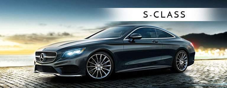 Mercedes-Benz S-Class front side exterior