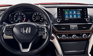Honda Accord 8-Inch Display