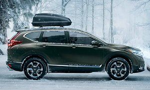 Honda CR-V in Snow