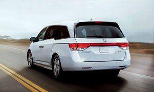 Honda Odyssey Rear Angle