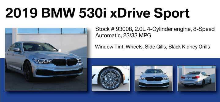 Don Jacobs Signature Series 2019 BMW 530i xDrive Sport