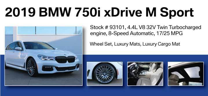 Don Jacobs Signature Series 2019 BMW 750i xDrive M Sport