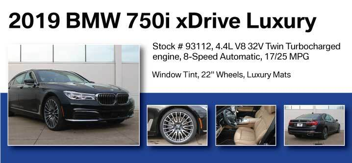 Don Jacobs Signature Series 2019 BMW 750i xDrive Luxury