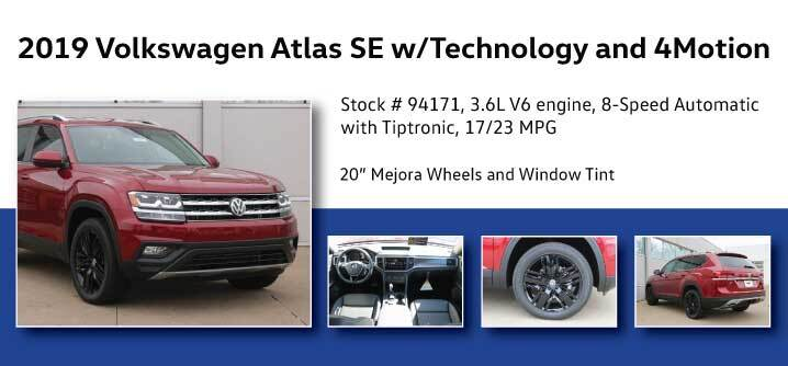 Don Jacobs Signature Series 2019 Volkswagen Atlas SE w/Technology and 4Motion