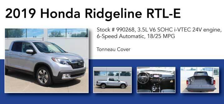 Don Jacobs Signature Series 2019 Honda Ridgeline RTL-E