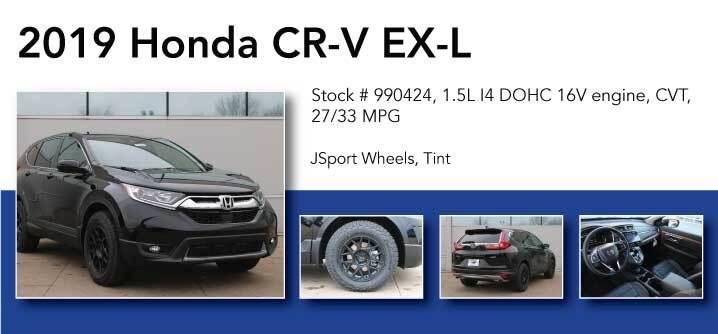Don Jacobs Signature Series 2019 Honda CR-V EX-L