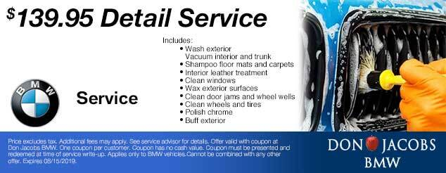 Don Jacobs BMW Service Coupon