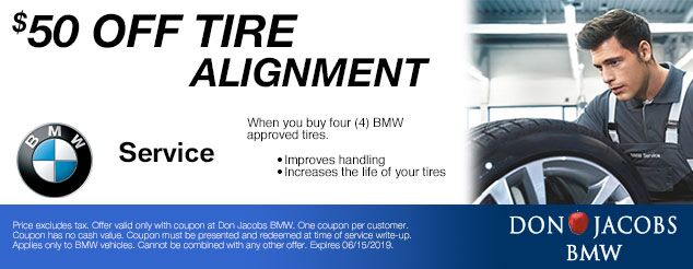 Don Jacobs BMW Service Coupon