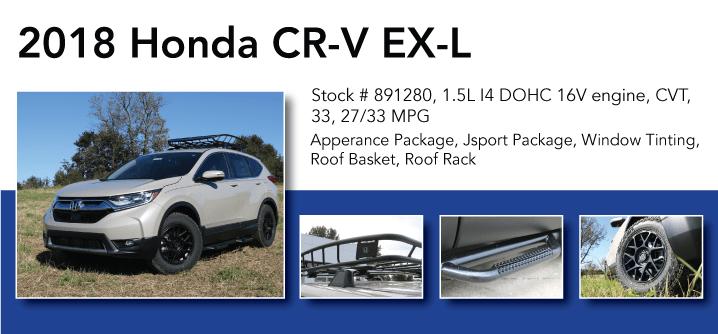 Don Jacobs Signature Series 2018 Honda CR-V EX-L