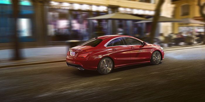2017 Mercedes-Benz CLA 250 Coupe 4MATIC