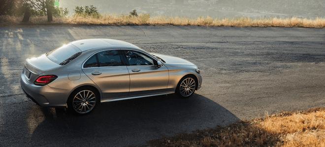 The 2019 Mercedes-Benz C-Class sedan available at Loeber Motors near Oak Park, IL