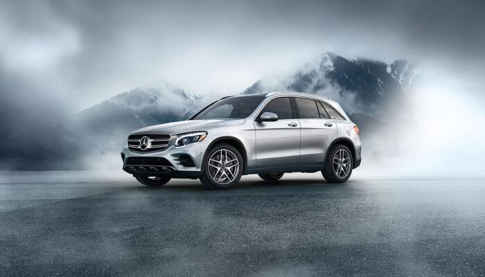 The stylish exterior of the 2019 Mercedes-Benz GLC