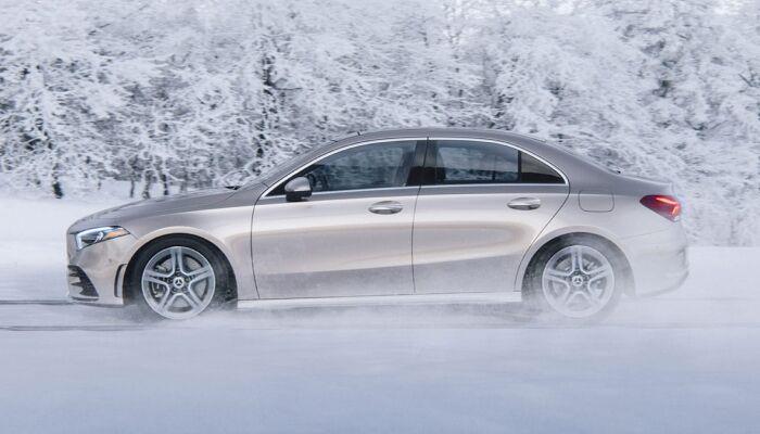 The high-performance 2019 Mercedes-Benz A-Class