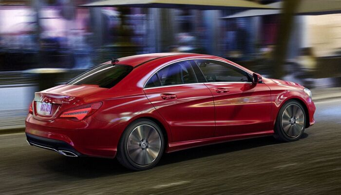 The high performance 2019 Mercedes-Benz CLA