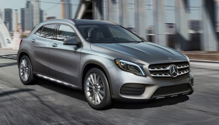 The high performance 2019 Mercedes-Benz GLA SUV