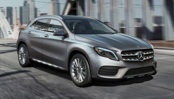 The high performance 2019 Mercedes-Benz GLA