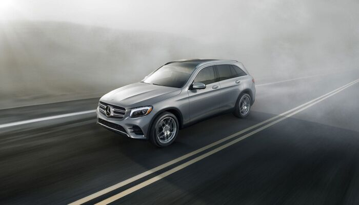 The high-performance 2019 Mercedes-Benz GLC