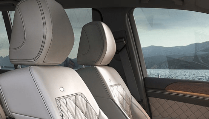 The spacious interior of the 2019 Mercedes-Benz GLS