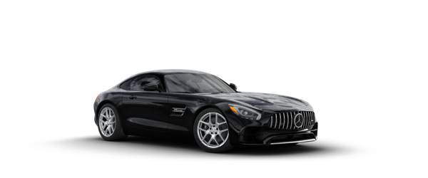 Mercedes-Benz AMG GT in black