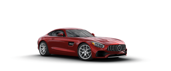 Mercedes-Benz AMG GT in red