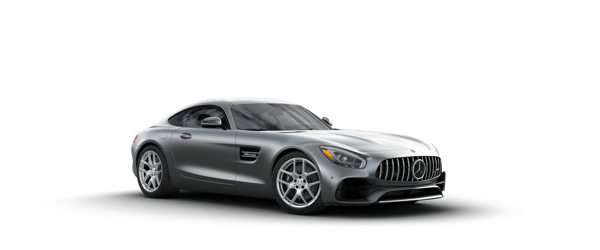 Mercedes-Benz AMG GT in silver