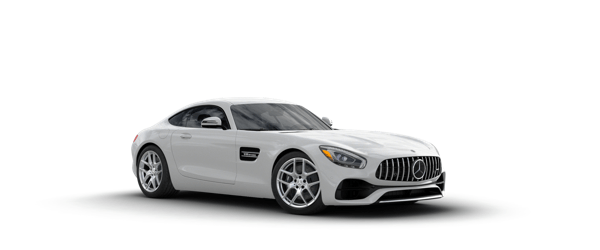 Mercedes-Benz AMG GT in white