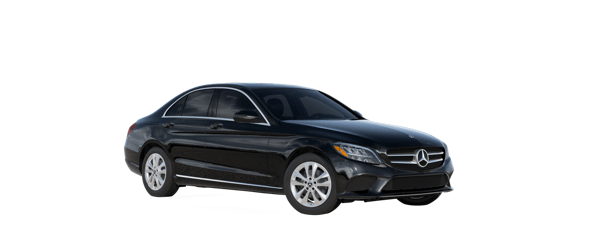 Mercedes-Benz C-Class in Black