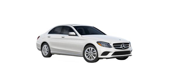 Mercedes-Benz C-Class in white