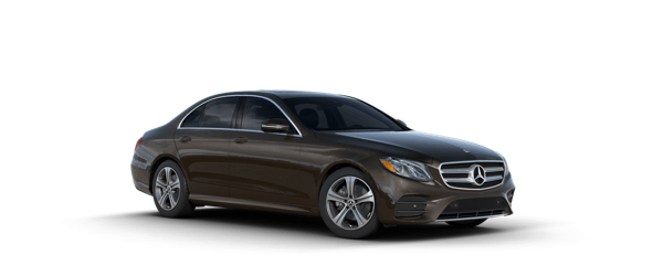 Mercedes-Benz E-Class in brown