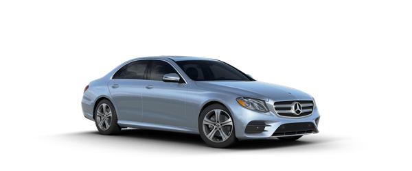 Mercedes-Benz E-Class in silver
