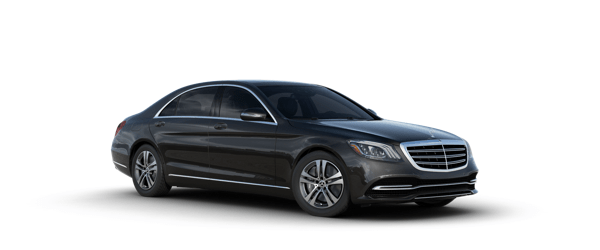 Mercedes-Benz S-Class in black