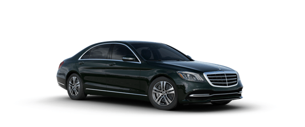 Mercedes-Benz S-Class in green