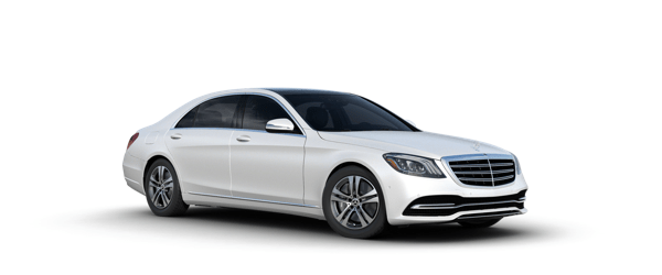 Mercedes-Benz S-Class in white