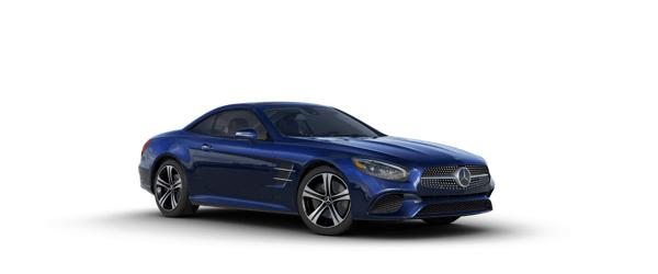 Mercedes-Benz SL Class in blue