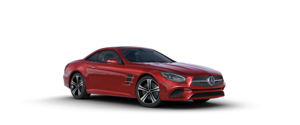 Mercedes-Benz SL Class in red