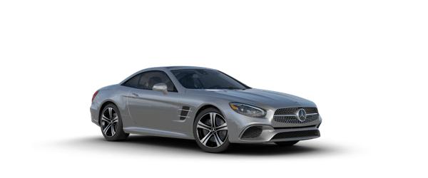 Mercedes-Benz SL Class in silver
