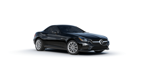Mercedes-Benz SLC in black