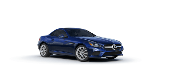 Mercedes-Benz SLC in blue