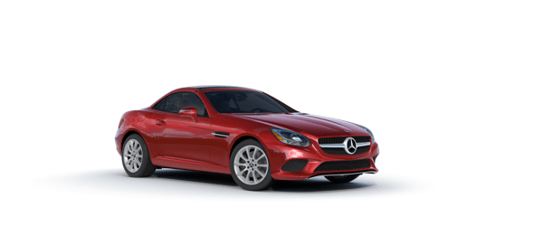Mercedes-Benz SLC in red