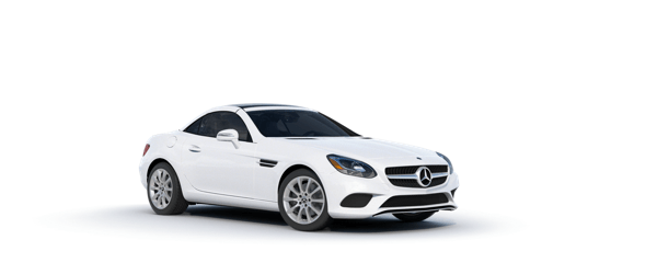 Mercedes-Benz SLC in white