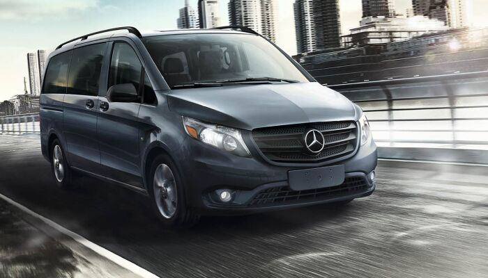 The powerful 2019 Mercedes-Benz Metris van