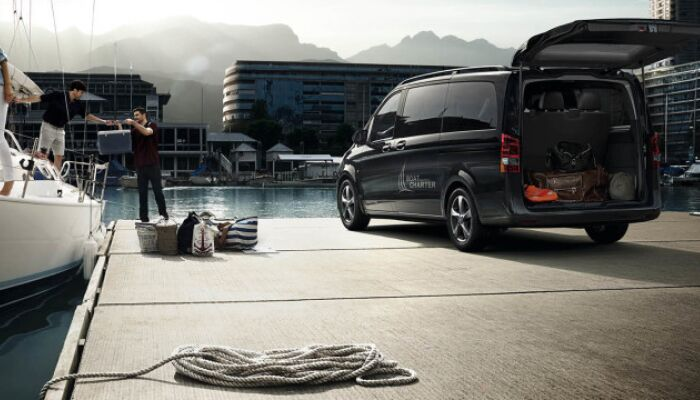Stay safe inside the 2019 Mercedes-Benz Metris