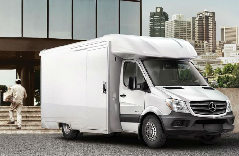 2016 Mercedes-Benz Sprinter Cab Chassis Configuration in White
