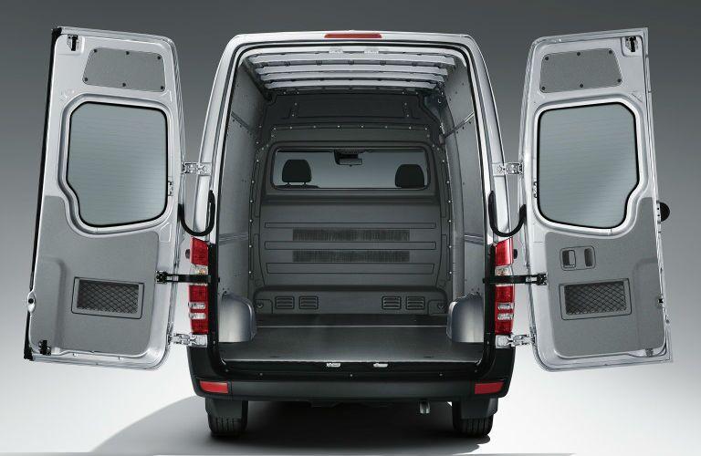 Cargo Space in the 2016 Mercedes-Benz Sprinter Cargo Van