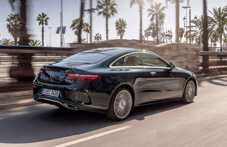 2018 Mercedes-Benz C-Class Coupe from behind