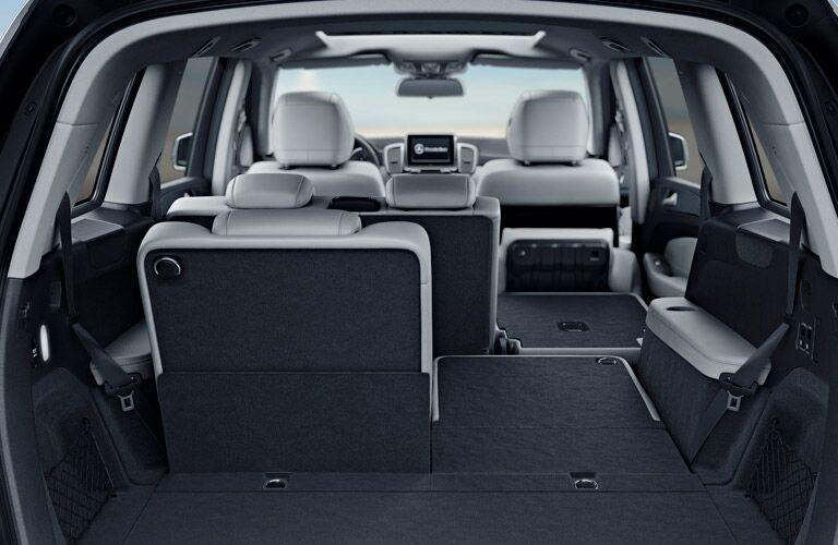 2018 Mercedes-Benz GLS Interior Cabin Cargo Area with 60/40 Split-Folding Seats