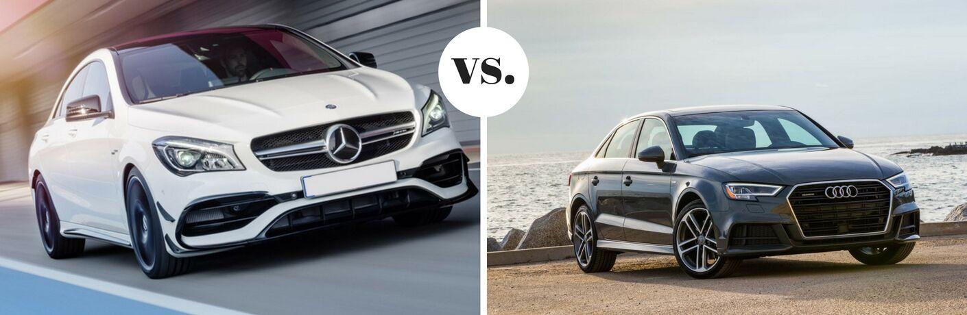 2018 Mercedes-Benz CLA 250 vs 2018 Audi A3