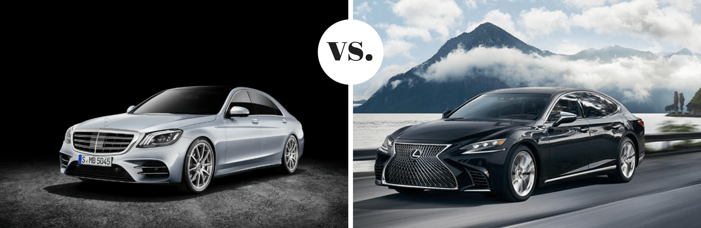 2018 Mercedes-Benz S 450 vs 2018 Lexus LS 500