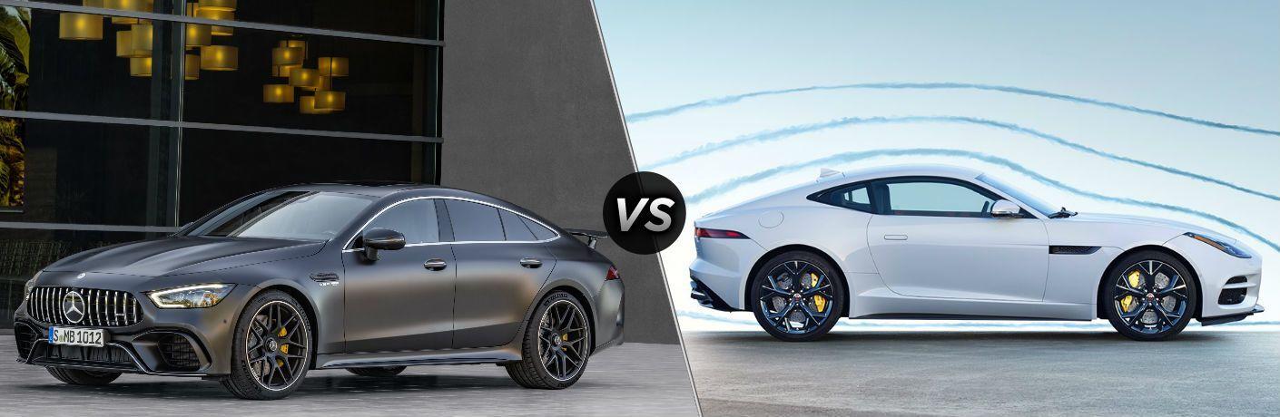 2019 Mercedes-Benz AMG® GT vs 2019 Jaguar F-Type R