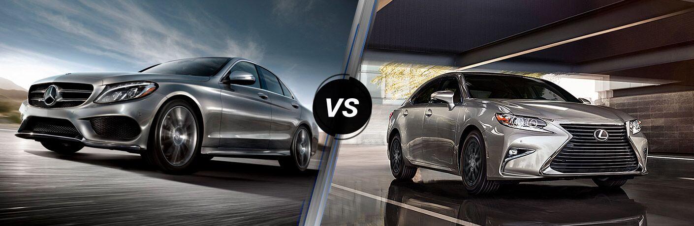 2018 Mercedes-Benz C-Class vs 2018 Lexus ES